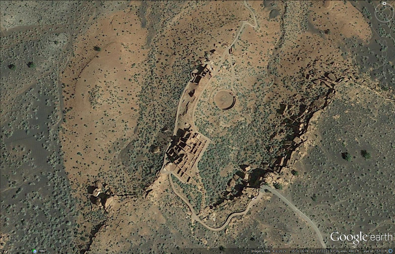 United States American Natives - Archaeological sites in the southwest us map
